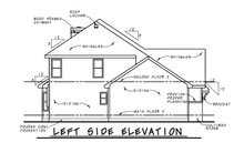 House Plan Design - Craftsman Exterior - Other Elevation Plan #20-2366