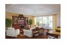 Mediterranean Interior - Family Room Plan #938-24
