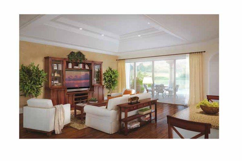Mediterranean Interior - Family Room Plan #938-24 - Houseplans.com