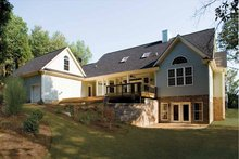 Dream House Plan - Country Exterior - Rear Elevation Plan #929-425