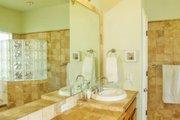 Mediterranean Style House Plan - 4 Beds 2 Baths 2014 Sq/Ft Plan #80-142 Interior - Master Bathroom