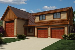 Dream House Plan - Traditional Exterior - Front Elevation Plan #118-168