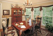 Architectural House Design - Country Interior - Dining Room Plan #929-242