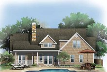 Dream House Plan - Craftsman Exterior - Rear Elevation Plan #929-774