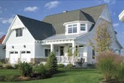 Craftsman Style House Plan - 4 Beds 4.5 Baths 3547 Sq/Ft Plan #928-60 Exterior - Front Elevation