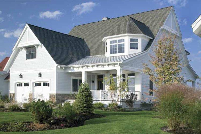 Craftsman Exterior - Front Elevation Plan #928-60 - Houseplans.com