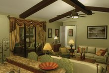 Mediterranean Interior - Family Room Plan #930-434