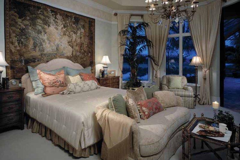 Mediterranean Interior - Master Bedroom Plan #930-107 - Houseplans.com