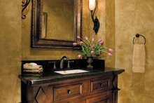 Architectural House Design - Mediterranean Interior - Bathroom Plan #930-315