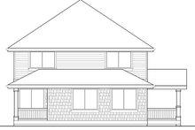 Craftsman Exterior - Rear Elevation Plan #569-23