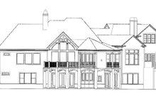 Craftsman Exterior - Rear Elevation Plan #54-352