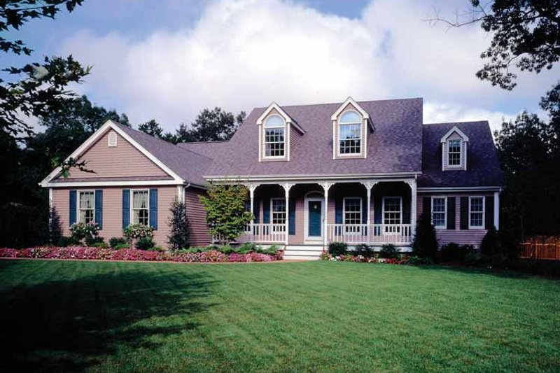 Country Exterior - Front Elevation Plan #314-184 - Houseplans.com