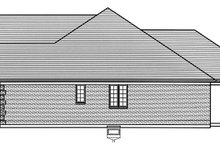 Dream House Plan - Colonial Exterior - Other Elevation Plan #46-866