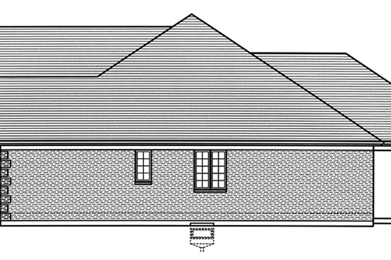 Colonial Exterior - Other Elevation Plan #46-866 - Houseplans.com