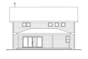 Bungalow Exterior - Front Elevation Plan #117-674