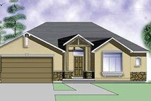 Craftsman Exterior - Front Elevation Plan #945-5