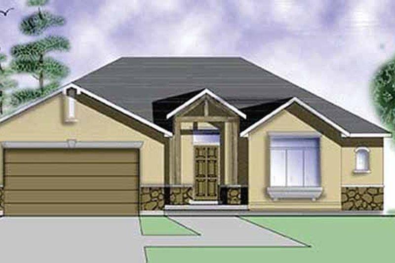 House Plan Design - Craftsman Exterior - Front Elevation Plan #945-5