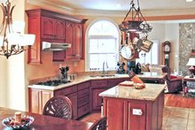 Dream House Plan - Ranch Interior - Kitchen Plan #314-222