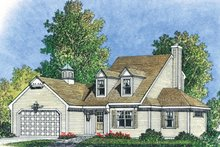 House Plan Design - Colonial Exterior - Front Elevation Plan #1016-102