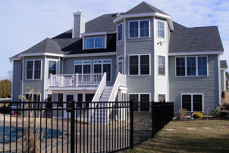 Country Exterior - Rear Elevation Plan #927-642 - Houseplans.com