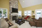 Traditional Style House Plan - 4 Beds 3 Baths 3614 Sq/Ft Plan #928-44 Interior - Family Room