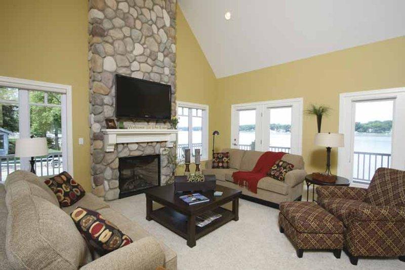 Traditional Interior - Family Room Plan #928-44 - Houseplans.com