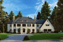 House Plan Design - European Exterior - Front Elevation Plan #923-185