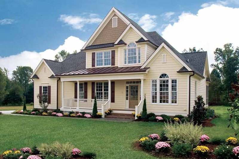 Dream House Plan - Country Exterior - Front Elevation Plan #929-359