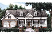 Country Style House Plan - 3 Beds 2.5 Baths 2170 Sq/Ft Plan #927-150 Exterior - Front Elevation