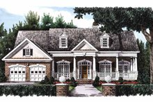 Country Exterior - Front Elevation Plan #927-150