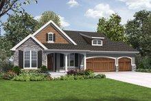 Architectural House Design - Cottage Exterior - Front Elevation Plan #48-969