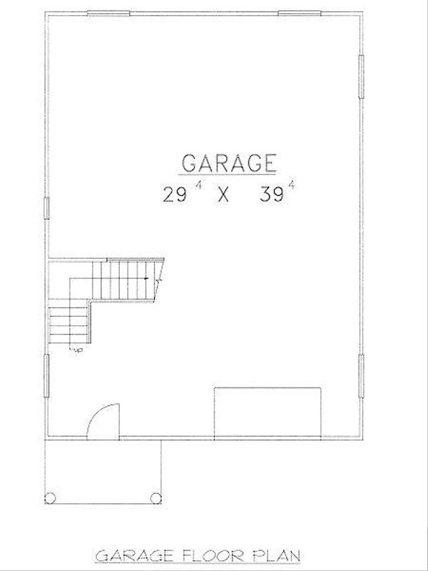 Traditional Floor Plan - Main Floor Plan Plan #117-551