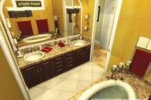 Mediterranean Interior - Master Bathroom Plan #930-434