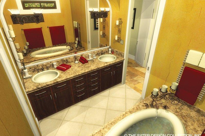 Mediterranean Interior - Master Bathroom Plan #930-434 - Houseplans.com