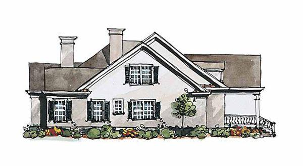 Classical Floor Plan - Other Floor Plan Plan #429-174