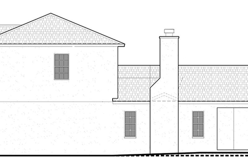Colonial Exterior - Other Elevation Plan #1058-132 - Houseplans.com