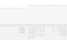 Architectural House Design - Craftsman Exterior - Rear Elevation Plan #932-205