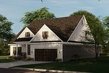 Home Plan - Traditional Exterior - Other Elevation Plan #17-2693