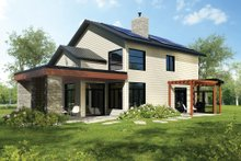Modern Exterior - Rear Elevation Plan #23-2308