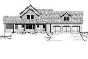 Farmhouse Exterior - Front Elevation Plan #51-300