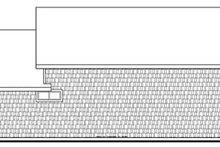 Craftsman Exterior - Rear Elevation Plan #124-796