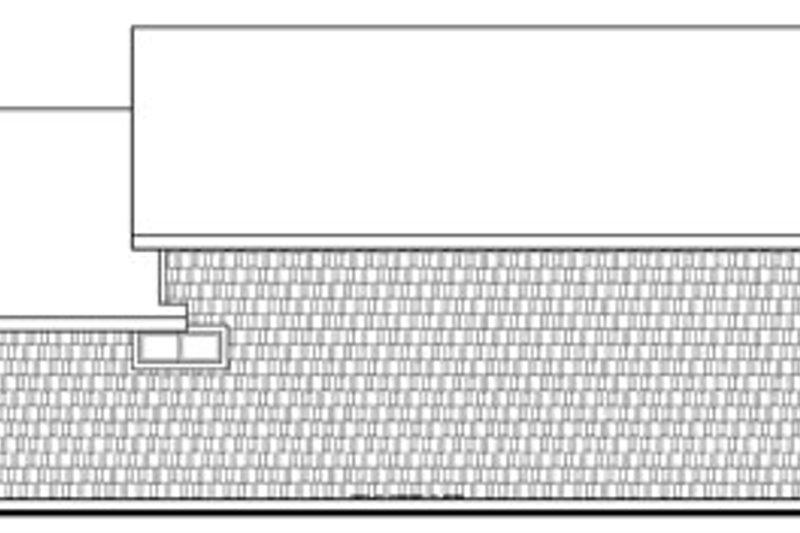 Craftsman Exterior - Rear Elevation Plan #124-796 - Houseplans.com