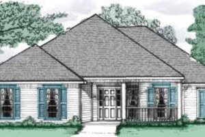 Traditional Exterior - Front Elevation Plan #37-146