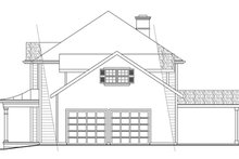 Colonial Exterior - Other Elevation Plan #124-443