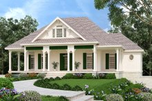 Architectural House Design - Ranch Exterior - Front Elevation Plan #45-579