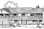 Traditional Style House Plan - 5 Beds 3 Baths 3152 Sq/Ft Plan #18-9008