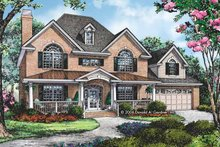 Traditional Exterior - Front Elevation Plan #929-794