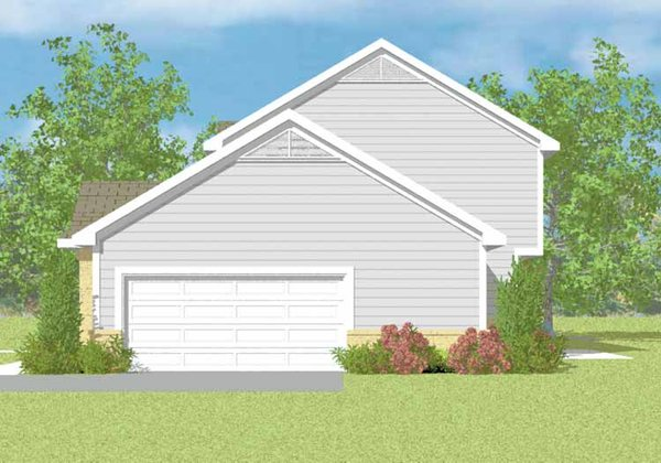 Country Floor Plan - Other Floor Plan Plan #72-1107