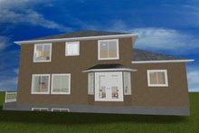 Traditional Exterior - Rear Elevation Plan #1060-19