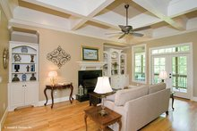European Interior - Family Room Plan #929-914